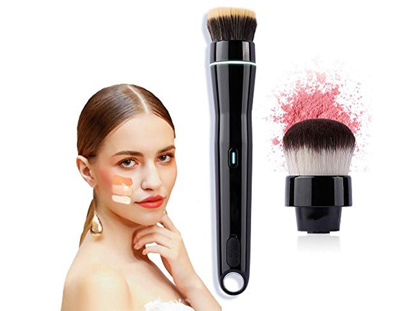 Smart Electric USB Rechargeable Automatic Rotating Makeup Brush